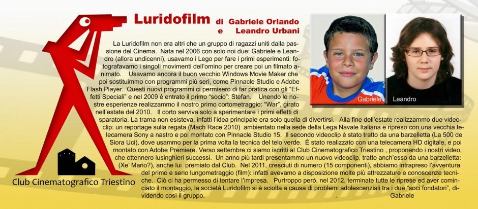 SCHEDA LURIDOFILM