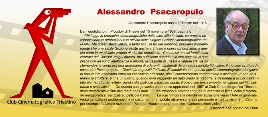 SCHEDA PSACAROPULO ALESSANDRO