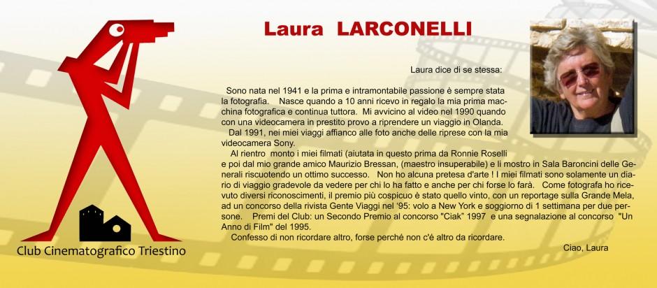 SCHEDA LARCONELLI LAURA