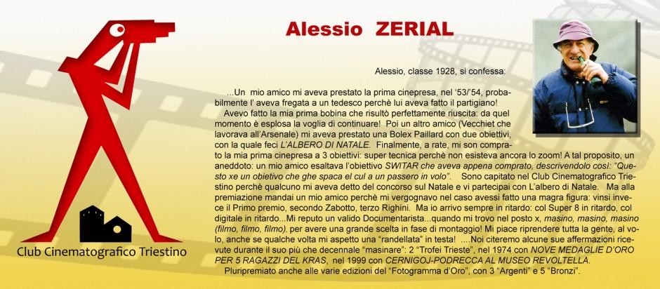 SCHEDA ZERIAL ALESSIO