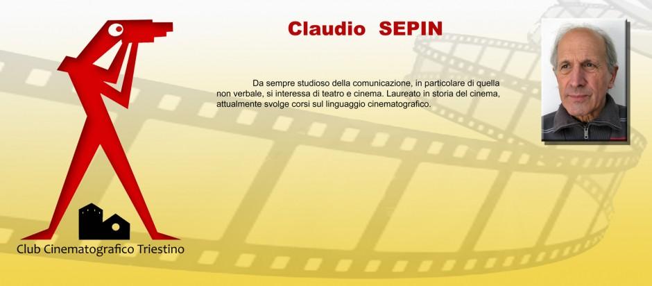 SCHEDA SEPIN CLAUDIO